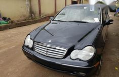 Foreign Used Mercedes-Benz C240 2004 Black For Sale
