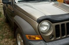 Jeep Liberty 2007 Gold for sale
