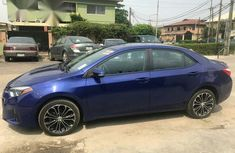 Clean Toyota Corolla 2014 Blue for sale