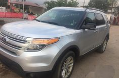 Foreign Used Ford Explorer 2013 Silver for sale