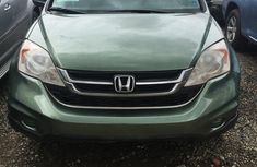 Clean Honda CR-V 2010 Green for sale
