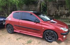 Peugeot 206 2004 Red for sale