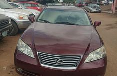 Lexus Es350 2008 Red for sale