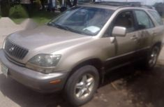 Clean Lexus Rx300 1999 Gold for sale
