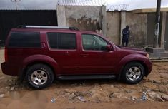 Niassn Pathfinder Jeep 2006 Red for sale