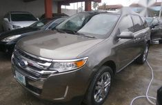 Fantastic Ford Edge 2014 Brown