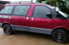 Fairly Used Toyota Previa 1999 Red