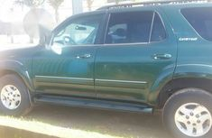 Toyota Sequoia 2003 Green for sale