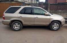 Used Acura MDX 2001 Gold for sale