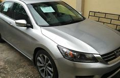 Clean Honda Accord Sports 2014 Silver for sale