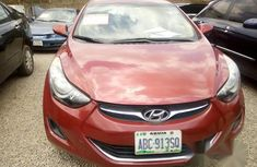Honda Elantra 2012 Red for sale