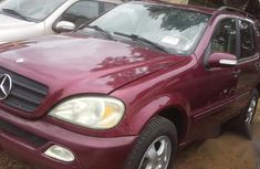 Mercedes-benz ML320 2003 Red for sale