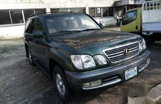 Lexus Lx470 2000 Green for sale