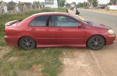 Very Good Toyota Corolla 2004 Red