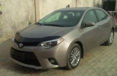 Direct Tokumbo Toyota Corolla 2013 Silver for sale