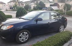 Clean Hyundai Elantra 2010 Blue for sale