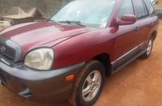 Hyundai Santa Fe 2003 Red for sale