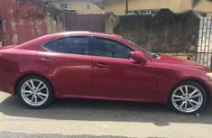 Lexus IS 250 2006 Red for sale