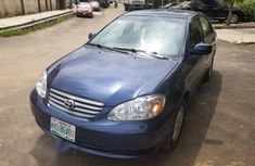 Toyota Corolla 2003 Blue for sale