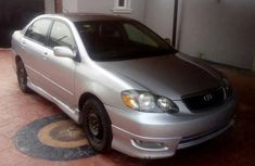 Toyota Corolla Sport 2005 Gray for sale