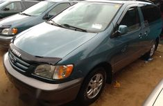 Toyota Sienna XLE 2003 Sky Blue for sale