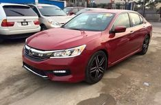 HONDA ACCORD 2008 RED FOR SALE