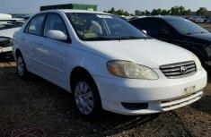 Toyota Corolla 2003 White for sale