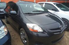 Toyota Yaris 2007 Fabric Gray for sale