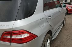 Just Landed Silver Tokunbo 2013 Benz ML350 for sale