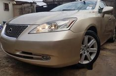 Extremely Clean Non Accident Lexus Es350 2007 Gold for sale