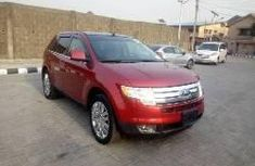 Ford Edge 2010 Petrol Automatic Red for sale
