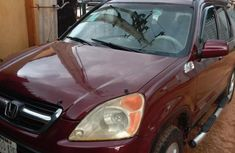 Honda CR-V 2003 Red for sale