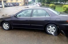 Clean Honda Accord 1998 Brown for sale