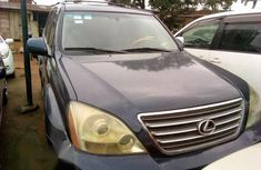 Lexus Gx 470 2005 Blue for sale