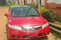 Honda Civic 2010 Red for sale