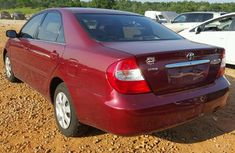 Toyota Camry Red 2003 for sale
