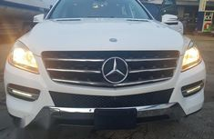 Mercedes Benz ML350 Full Option Thumb Start 2014 White