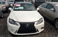 Clean Lexus IS 2007 White for sale