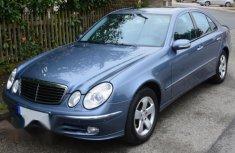 Fresh Mercedes Benz E Class 2004 Blue