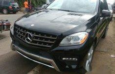 Mercedes Benz ML 350, 2013 Black