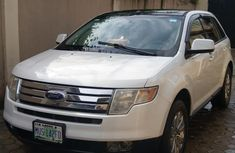 Clean Ford Edge 2007 White for sale