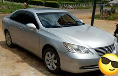 Neat Lexus ES 2007 Silver for sale