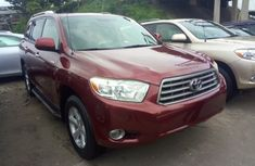 Toyota Highlander 2010 Red for sale