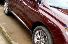 Lexus Rx 350 2014 Red For Sale