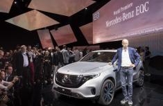 Mercedes-Benz introduces its first all-electric car - Mercedes-Benz EQC 400 4MATIC