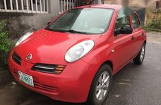 Nissan Micra 2006 Red for sale