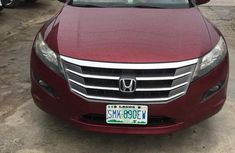 Honda Accord Crosstour 2010 Red