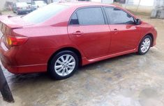 Toyota Corolla Sport 2010 Red For Sale