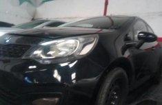 Clean Kia Rio 2013 Black for sale