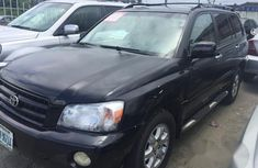 Toyota Highlander 2001 Black for sale